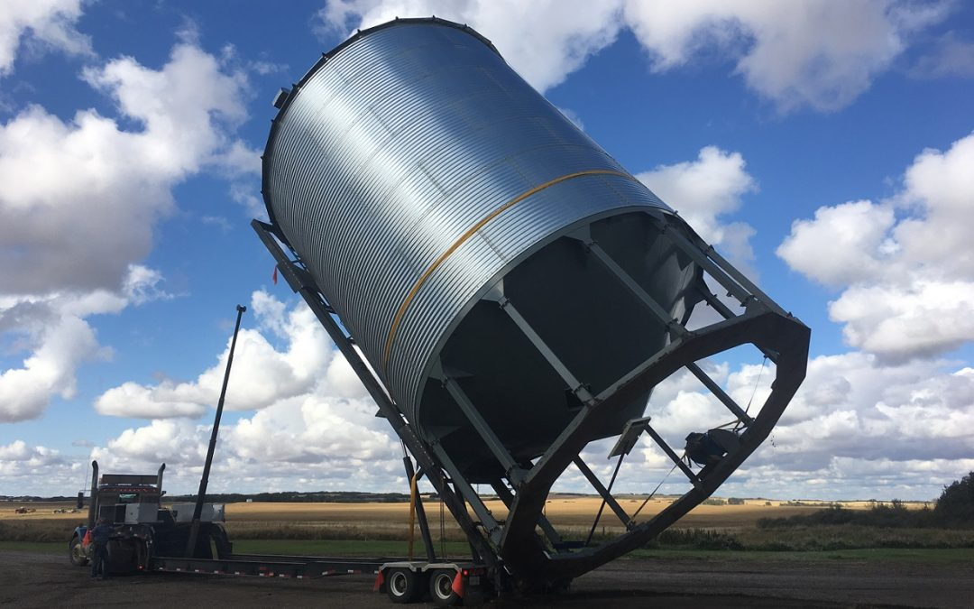 Bin and Fertilizer Tank Moving- 53′ Bin Trailer