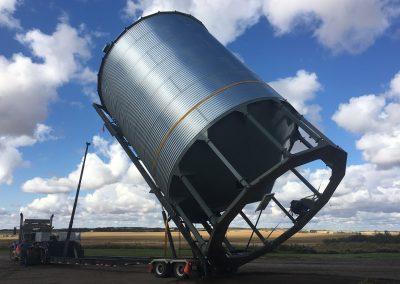 Bin and Fertilizer Tank Moving- 53′ Bin Trailer